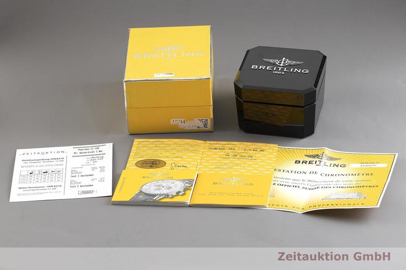 gebrauchte Luxusuhr Breitling Navitimer Cosmonaute Chronograph Stahl / Gold Automatik Kal. B22, ETA 2892-A2 Ref. D22322  | 2001701 _0