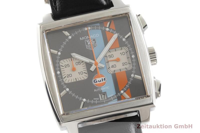 gebrauchte Luxusuhr Tag Heuer Monaco Chronograph Stahl Automatik Kal. Cal. 12, ETA 2892-A2 Ref. CAW2113 LIMITED EDITION | 2001706 _0