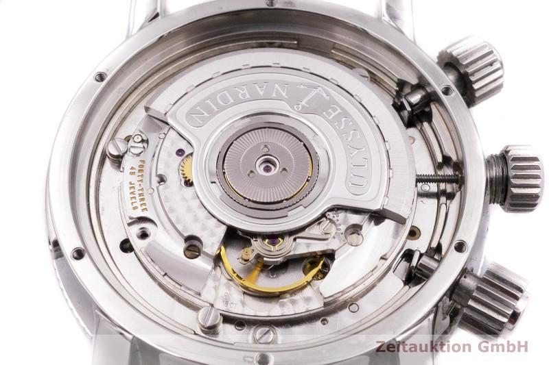 gebrauchte Luxusuhr Ulysse Nardin Marine Chronograph Chronograph Stahl / Titan Automatik Kal. ETA 2892-A2 Ref. 513-22  | 2001707 _0