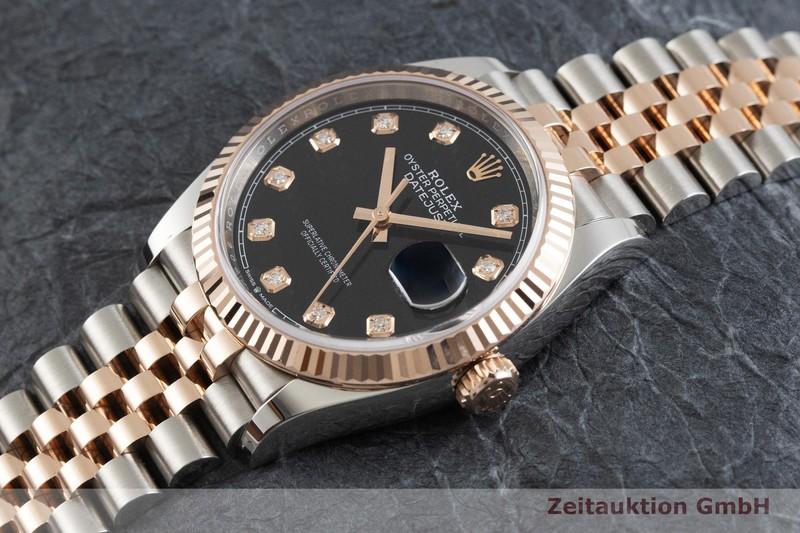 gebrauchte Luxusuhr Rolex Datejust Stahl / Gold Automatik Kal. 3235 Ref. 126231  | 2001726 _0