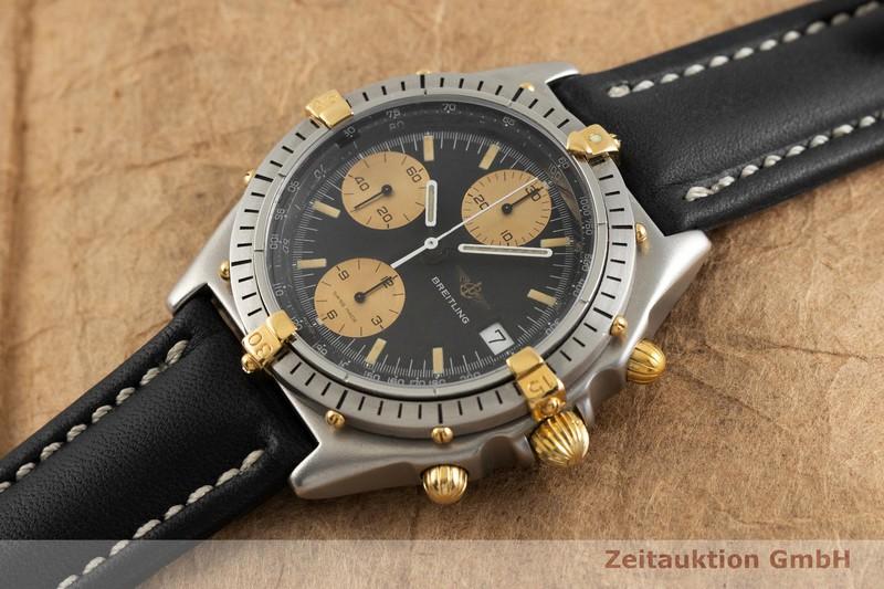 gebrauchte Luxusuhr Breitling Chronomat Chronograph Stahl / Gold Automatik Kal. ETA 7750 Ref. 81950  | 2001729 _0