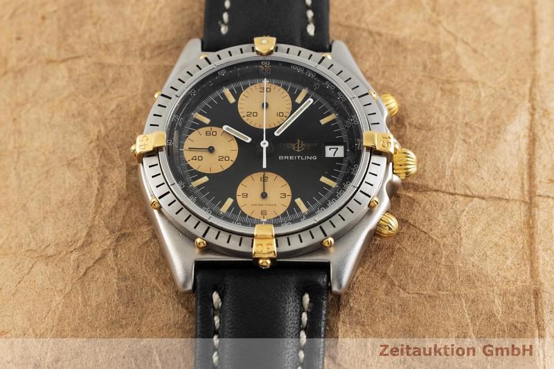 gebrauchte Luxusuhr Breitling Chronomat Chronograph Stahl / Gold Automatik Kal. ETA 7750 Ref. 81950  | 2001729 _1