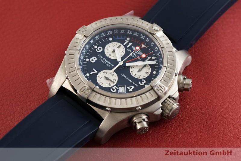 gebrauchte Luxusuhr Breitling Avenger Chronograph Titan Quarz Kal. B73, ETA 251.232 Ref. E73360  | 2001735 _0