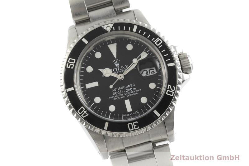 gebrauchte Luxusuhr Rolex Submariner Stahl Automatik Kal. 1570 Ref. 1680 VINTAGE    2001740 _0