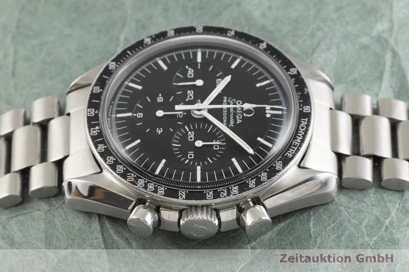 gebrauchte Luxusuhr Omega Speedmaster Moonwatch Chronograph Stahl Handaufzug Kal. 861 Ref. 145022-69ST VINTAGE  | 2001742 _0