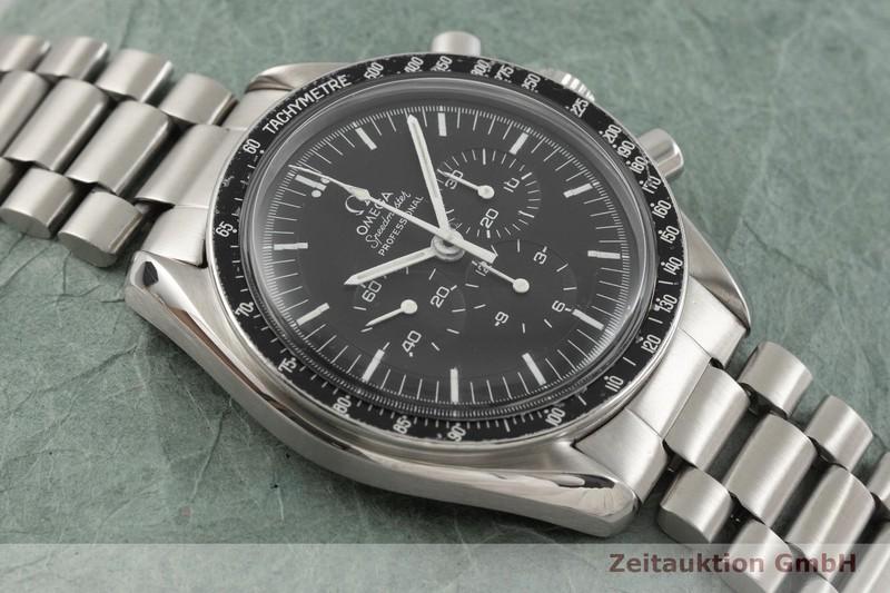 gebrauchte Luxusuhr Omega Speedmaster Moonwatch Chronograph Stahl Handaufzug Kal. 861 Ref. 145022-69ST VINTAGE  | 2001742 _1