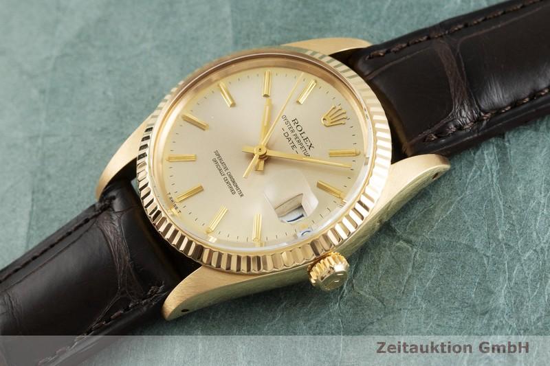 gebrauchte Luxusuhr Rolex Date 18k Gold Automatik Kal. 3035 Ref. 15038  | 2001752 _0