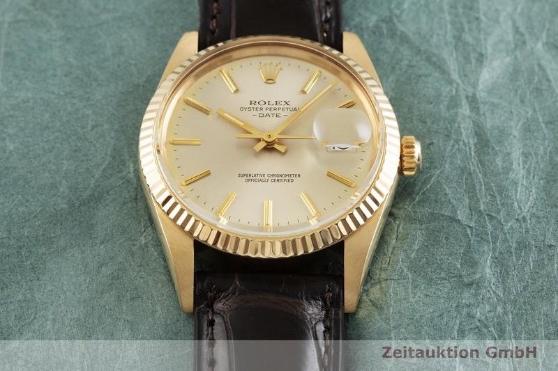 gebrauchte Luxusuhr Rolex Date 18k Gold Automatik Kal. 3035 Ref. 15038  | 2001752 _1