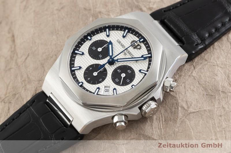 gebrauchte Luxusuhr Girard Perregaux Laureato Chronograph Stahl Automatik Ref. 81020-11-131-BB6A  | 2001756 _0