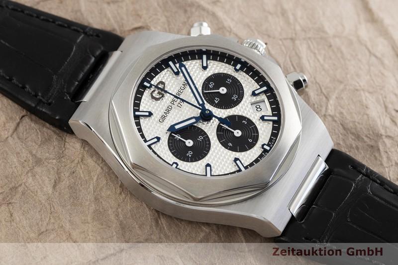 gebrauchte Luxusuhr Girard Perregaux Laureato Chronograph Stahl Automatik Ref. 81020-11-131-BB6A  | 2001756 _1