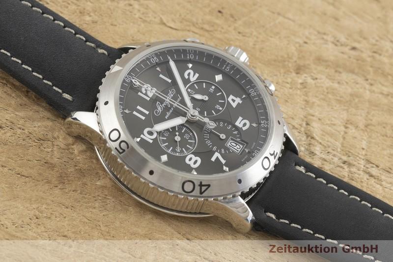 gebrauchte Luxusuhr Breguet Type XXI Chronograph Stahl Automatik Kal. 5840/1 Ref. 3810  | 2001759 _1