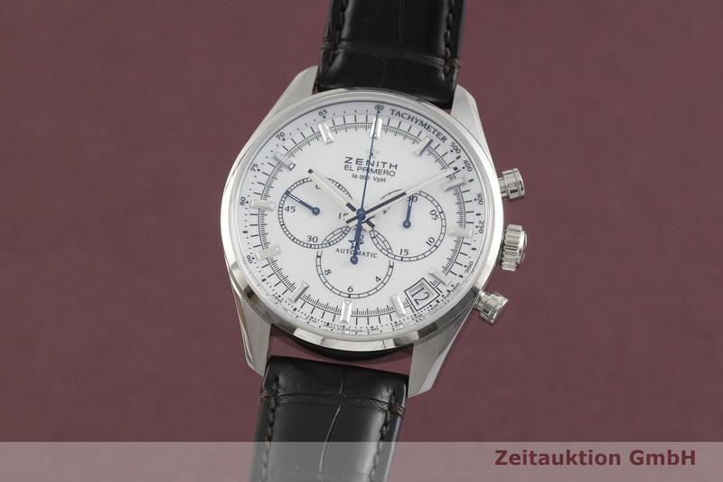 gebrauchte Luxusuhr Zenith El Primero Chronograph Stahl Automatik Kal. 400 Ref. 03.2080.400  | 2001761 _0