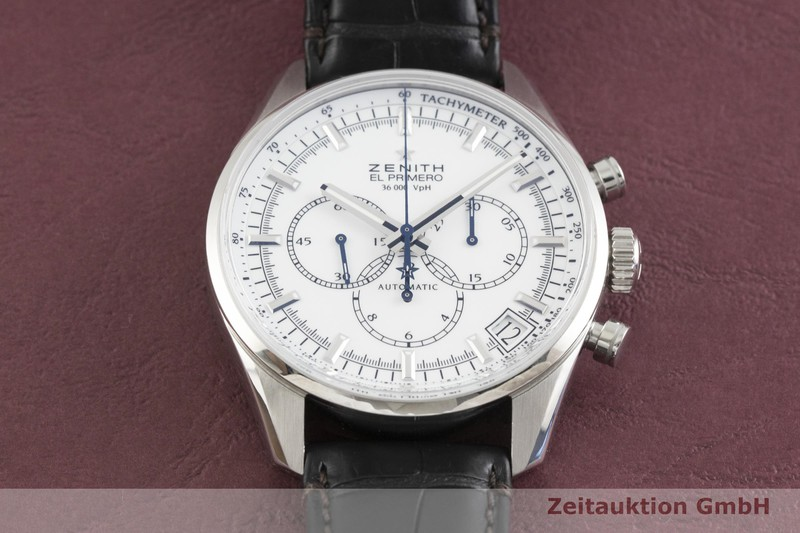 gebrauchte Luxusuhr Zenith El Primero Chronograph Stahl Automatik Kal. 400 Ref. 03.2080.400  | 2001761 _1