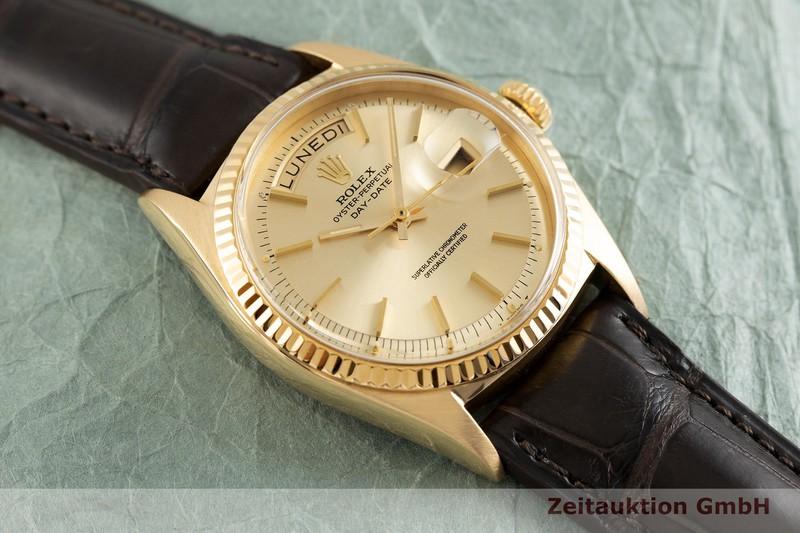 gebrauchte Luxusuhr Rolex Day-Date 18k Gold Automatik Kal. 1556 Ref. 1803  | 2001763 _1