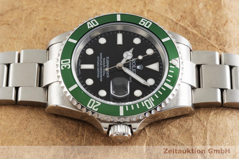 gebrauchte Luxusuhr Rolex Submariner Stahl Automatik Kal. 3135 Ref. 16610T  | 2001768 _0