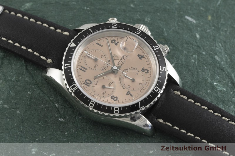 gebrauchte Luxusuhr Tudor Prince Date Chronograph Stahl Automatik Kal. B79, ETA 7750 Ref. 79270P    2001770 _1