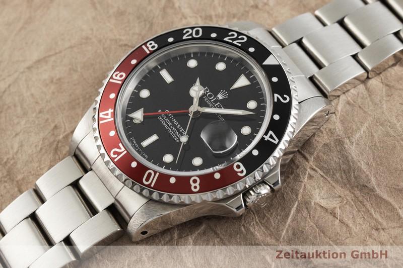 gebrauchte Luxusuhr Rolex GMT Master II Stahl Automatik Kal. 3185 Ref. 16710  | 2001771 _0