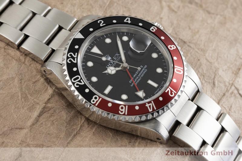 gebrauchte Luxusuhr Rolex GMT Master II Stahl Automatik Kal. 3185 Ref. 16710  | 2001771 _1