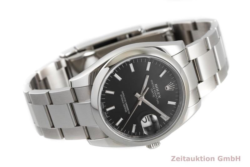 gebrauchte Luxusuhr Rolex Date Stahl Automatik Kal. 3135 Ref. 115200  | 2001772 _0