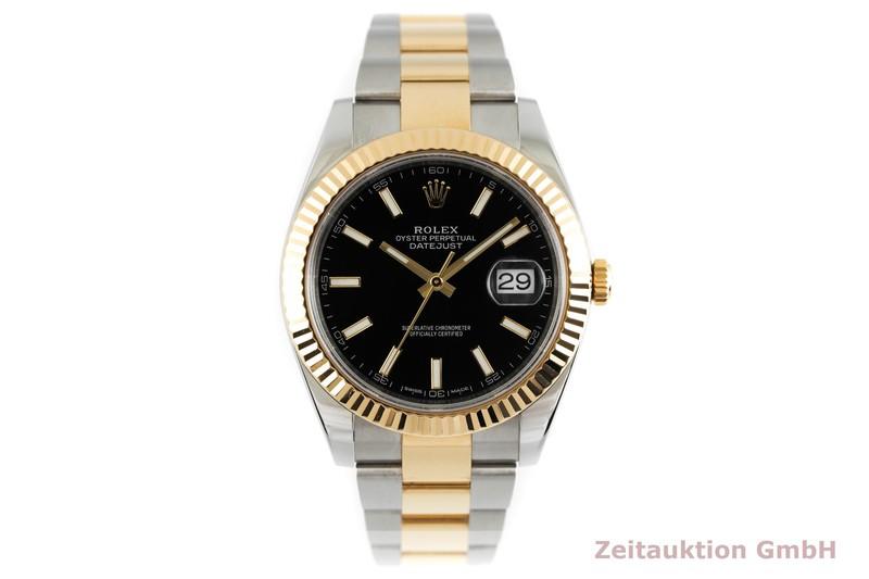 gebrauchte Luxusuhr Rolex Datejust Stahl / Gold Automatik Kal. 3235 Ref. 126333  | 2001775 _1