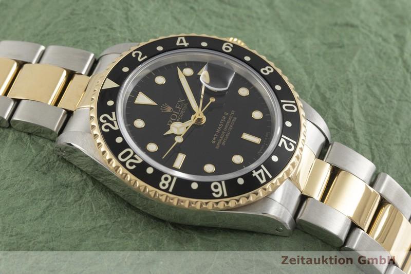 gebrauchte Luxusuhr Rolex GMT Master II Stahl / Gold Automatik Kal. 3185 Ref. 16713  | 2001788 _1