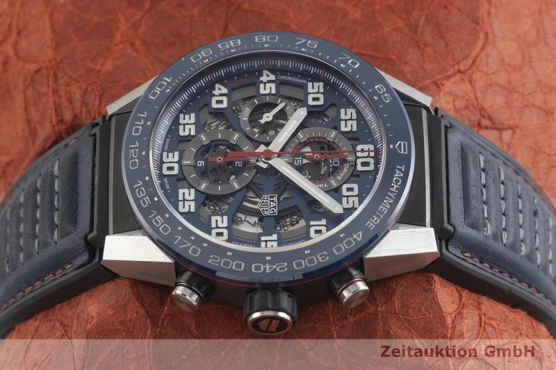 gebrauchte Luxusuhr Tag Heuer Carrera Chronograph Keramik / Stahl Automatik Kal. 01 Ref. CAR2A1N  | 2001791 _0