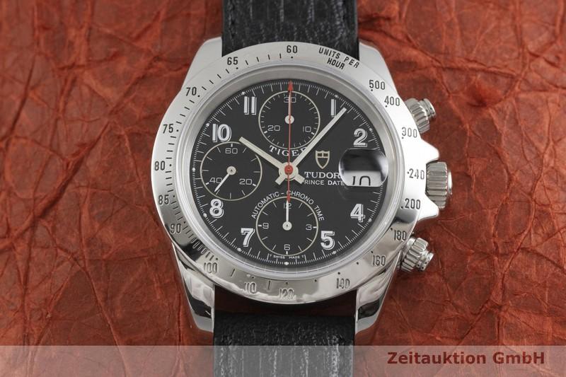 gebrauchte Luxusuhr Tudor Prince Date Chronograph Stahl Automatik Kal. ETA 7750 Ref. 79280P    2001792 _1