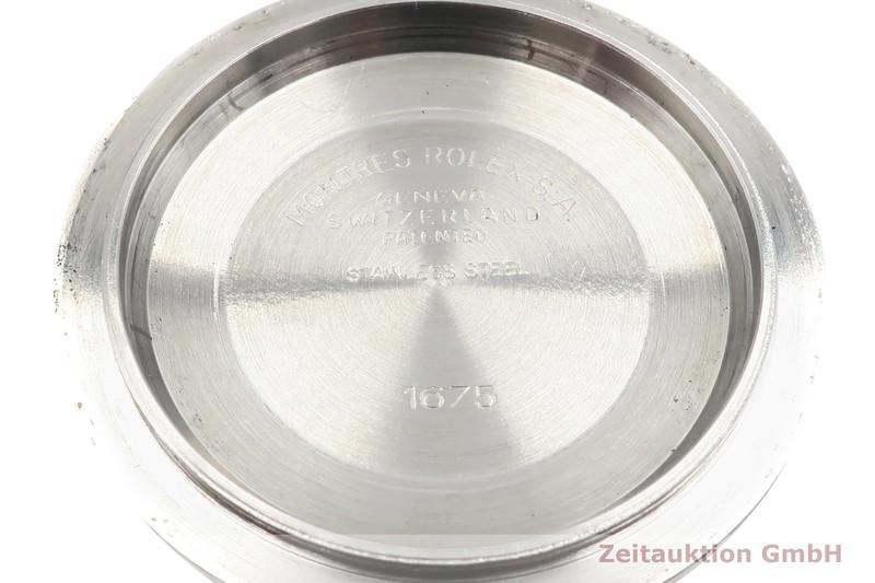 gebrauchte Luxusuhr Rolex GMT Master Stahl / Gold Automatik Kal. 3075 Ref. 16753 VINTAGE  | 2001793 _0