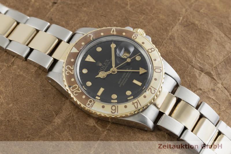 gebrauchte Luxusuhr Rolex GMT Master Stahl / Gold Automatik Kal. 3075 Ref. 16753 VINTAGE  | 2001793 _1