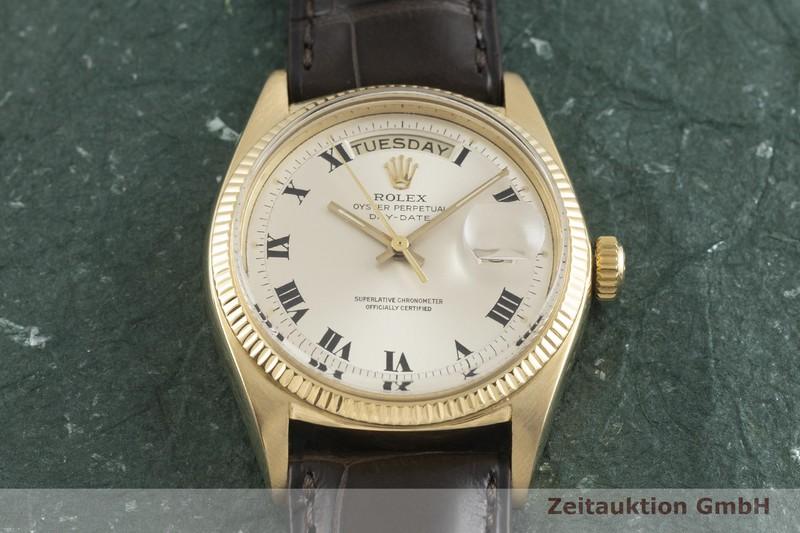 gebrauchte Luxusuhr Rolex Day-Date 18k Gold Automatik Kal. 1555 Ref. 1803 VINTAGE  | 2001800 _1