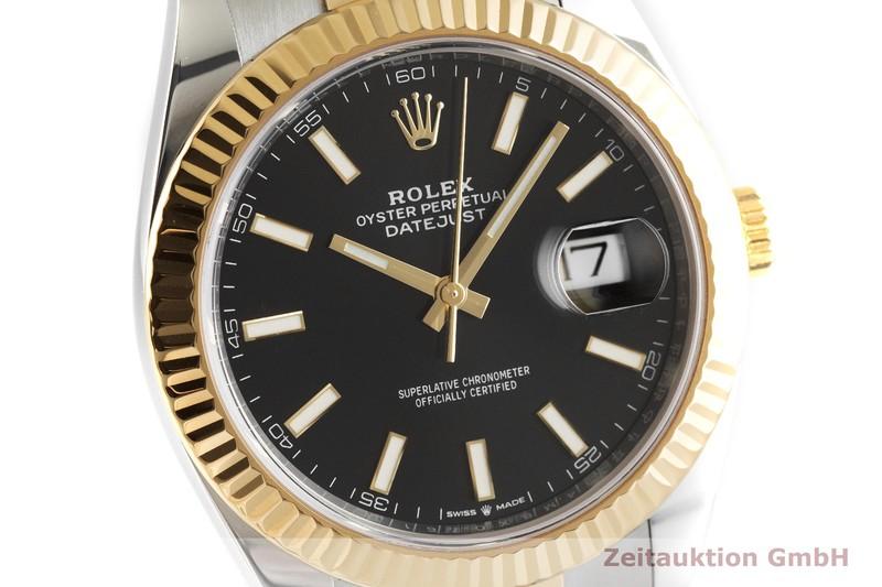 gebrauchte Luxusuhr Rolex Datejust Stahl / Gold Automatik Kal. 3235 Ref. 126333  | 2001809 _0