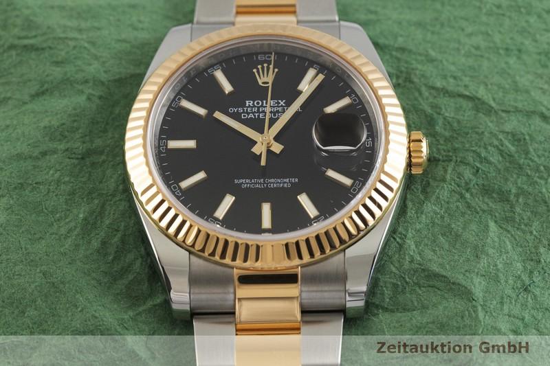 gebrauchte Luxusuhr Rolex Datejust Stahl / Gold Automatik Kal. 3235 Ref. 126333  | 2001809 _1
