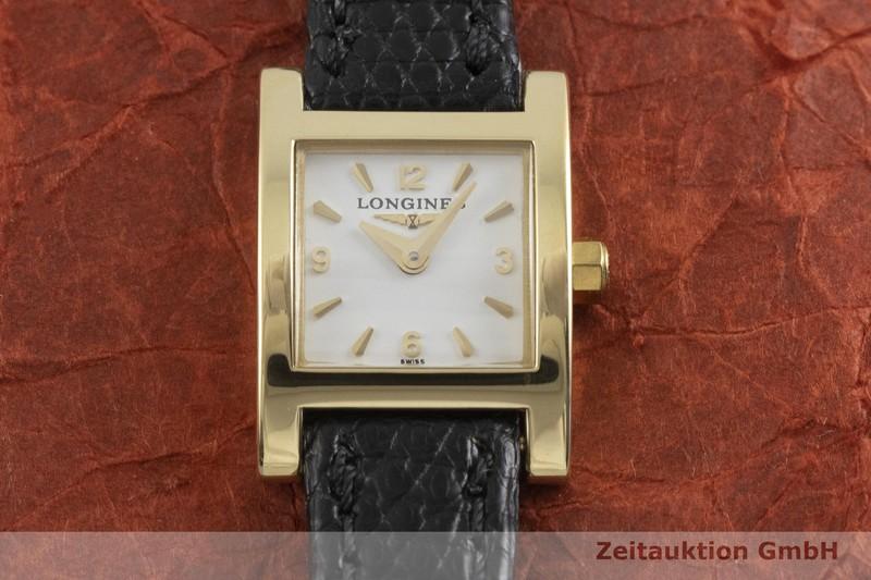 gebrauchte Luxusuhr Longines Dolce Vita 18k Gold Quarz Kal. L298.2, ETA 01.001 Ref. L5.161.6  | 2001810 _1