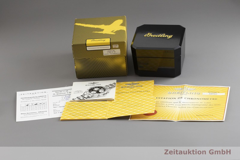 gebrauchte Luxusuhr Breitling Colt Ocean Chronograph Stahl Quarz Kal. B53, ETA 251.262 Ref. A53350  | 2001824 _0