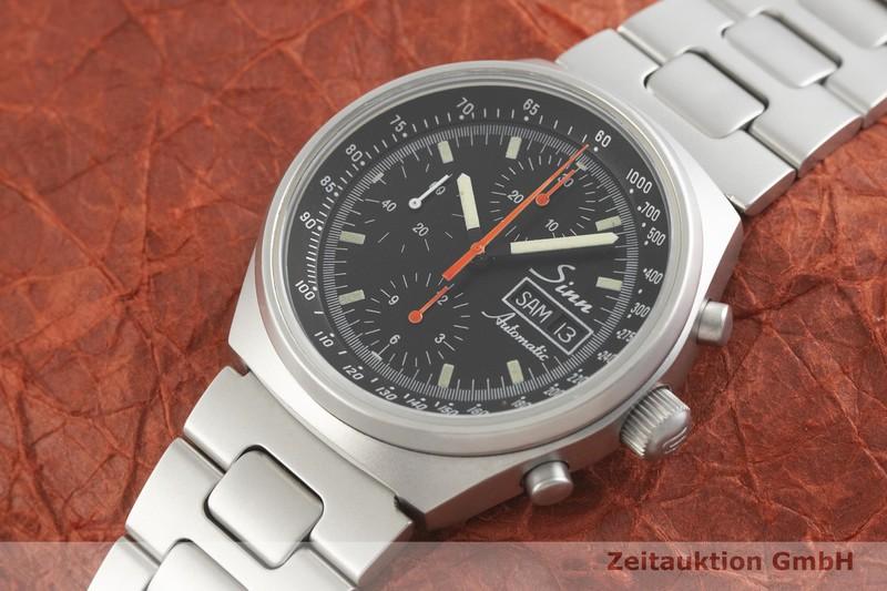 gebrauchte Luxusuhr Sinn 144 Chronograph Stahl Automatik Kal. Valjoux 7750  | 2001828 _0