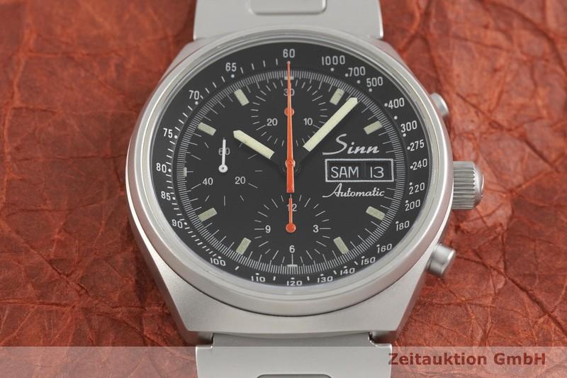 gebrauchte Luxusuhr Sinn 144 Chronograph Stahl Automatik Kal. Valjoux 7750  | 2001828 _1