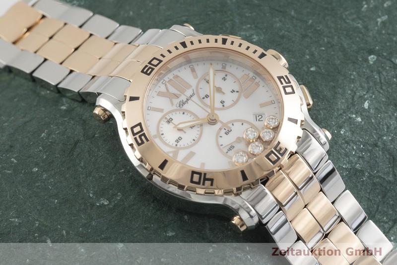 gebrauchte Luxusuhr Chopard Happy Sport Chronograph Stahl / Gold Quarz Kal. ETA 251.372 Ref. 288499-6002  | 2001842 _1