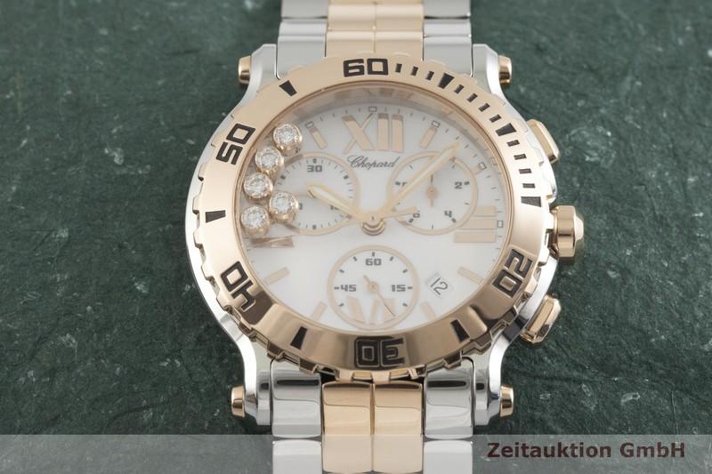 gebrauchte Luxusuhr Chopard Happy Sport Chronograph Stahl / Gold Quarz Kal. ETA 251.372 Ref. 288499-6002    2001842 _1