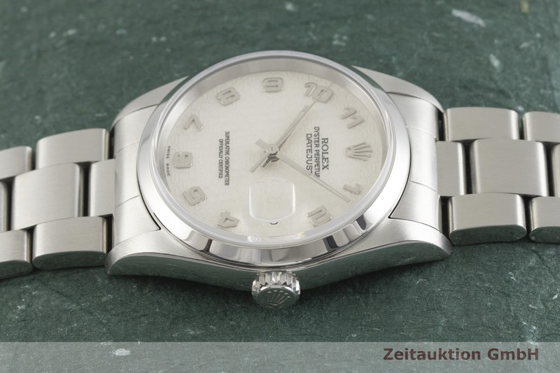 gebrauchte Luxusuhr Rolex Datejust Stahl Automatik Kal. 3135 Ref. 16200  | 2001850 _0