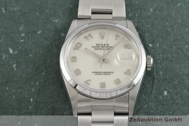 gebrauchte Luxusuhr Rolex Datejust Stahl Automatik Kal. 3135 Ref. 16200  | 2001850 _1
