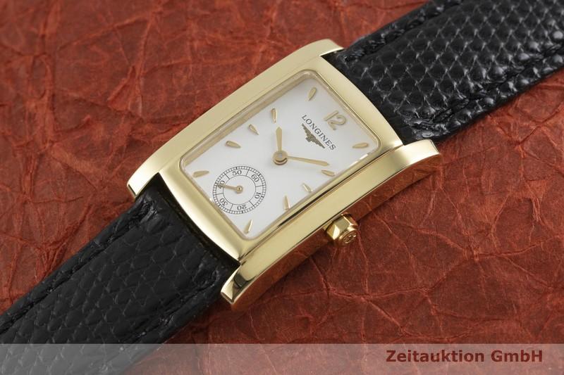 gebrauchte Luxusuhr Longines Dolce Vita 18k Gold Quarz Kal. ETA 980.163 Ref. L5.502.6  | 2001853 _0