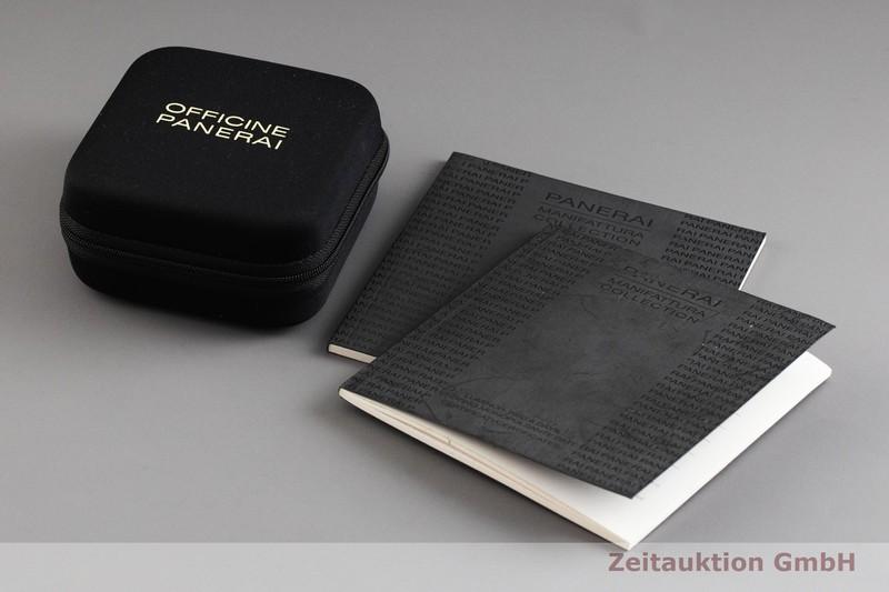 gebrauchte Luxusuhr Panerai Luminor  Chronograph 18k Gold Handaufzug Kal. P.2004/6 Ref. PAM00344, OP6802 LIMITED EDITION | 2001864 _0