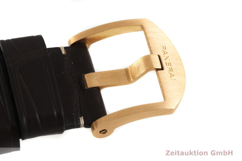 gebrauchte Luxusuhr Panerai Luminor  Chronograph 18k Gold Handaufzug Kal. P.2004/6 Ref. PAM00344, OP6802 LIMITED EDITION | 2001864 _1