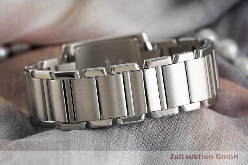gebrauchte Luxusuhr Cartier Tank Francaise Stahl Quarz Kal. 157 Ref. 2301    2001865 _1