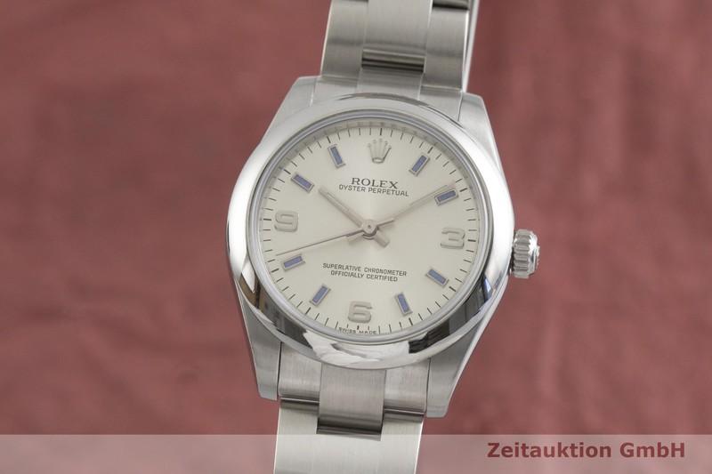gebrauchte Luxusuhr Rolex Oyster Perpetual Stahl Automatik Kal. 2231 Ref. 177200  | 2001874 _0