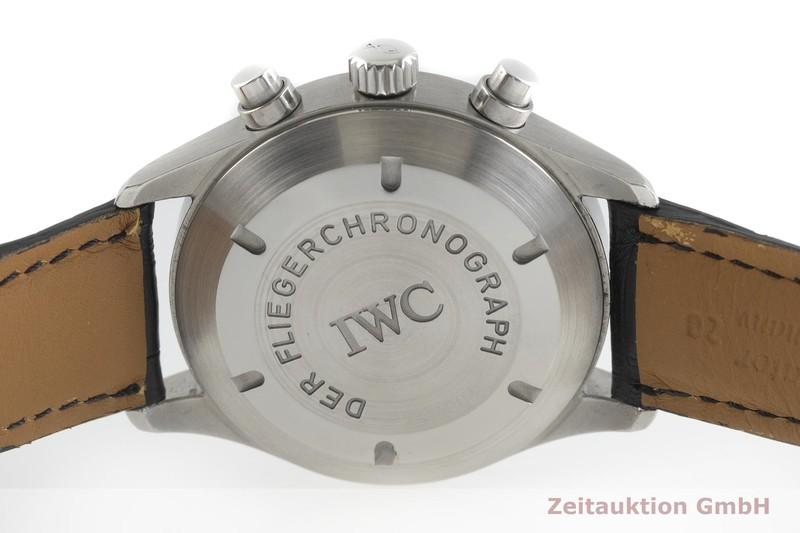 gebrauchte Luxusuhr IWC Fliegerchronograph Chronograph Stahl Automatik Kal. C.7922 Ref. 3706    2001891 _0