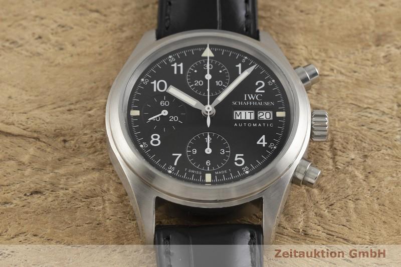 gebrauchte Luxusuhr IWC Fliegerchronograph Chronograph Stahl Automatik Kal. C.7922 Ref. 3706    2001891 _1