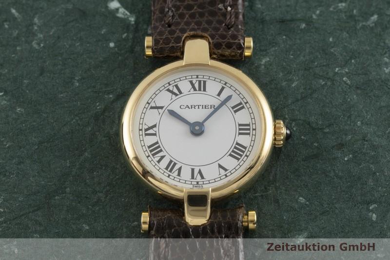 gebrauchte Luxusuhr Cartier * 18k Gold Quarz Kal. 157  | 2001896 _1