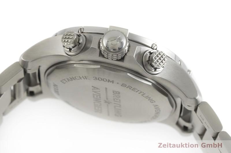 gebrauchte Luxusuhr Breitling Avenger Chronograph Stahl Automatik Kal. Sellita SW 500 Ref. A13317  | 2001898 _0
