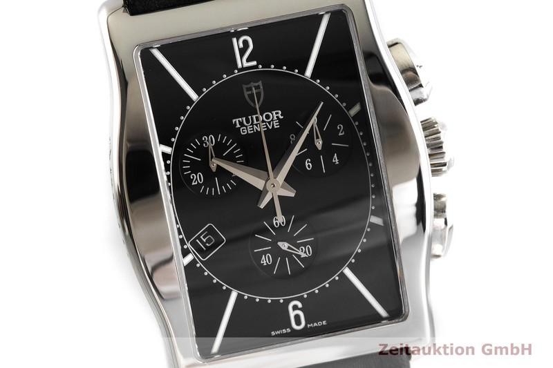 gebrauchte Luxusuhr Tudor Archeo Chronograph Stahl Quarz Kal. ETA 251.471 Ref. 43300    2001904 _0